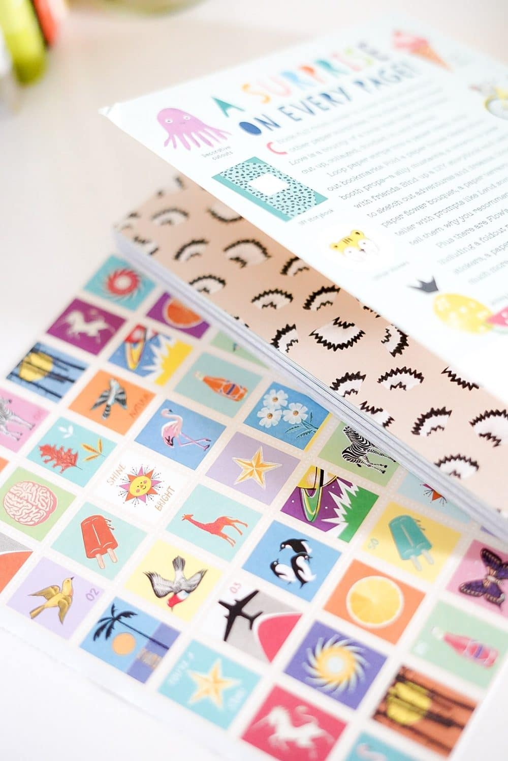 Paper junkies rejoice! The Kids Book of Paper Love is a gem.