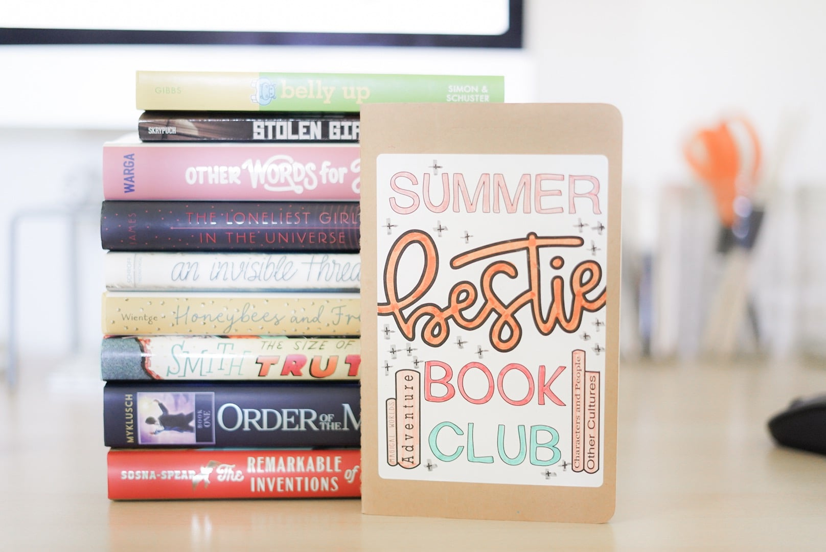 DIY book club journal