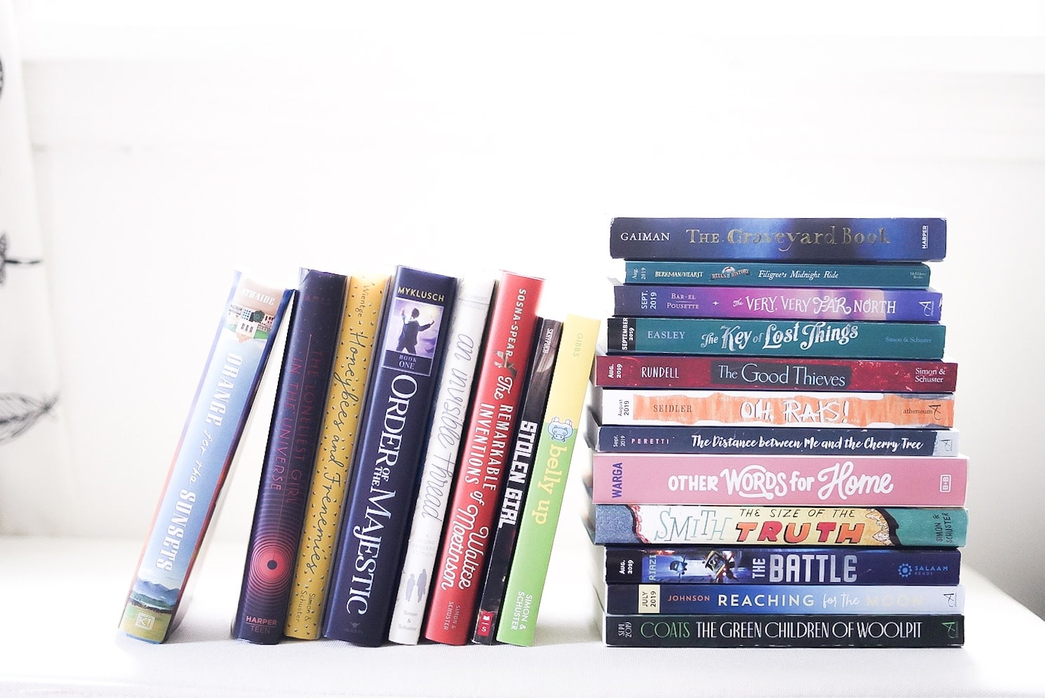 Book list for middle grade readers