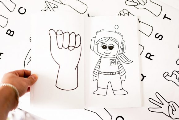 Free ASL Coloring Pages
